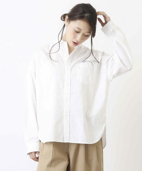 タテヨコスラブビッグシャツ