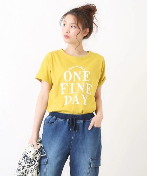オーガニックコットンクルーTシャツ