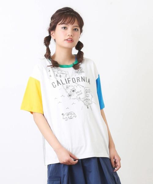21/-リサイクル天竺クルーTシャツ