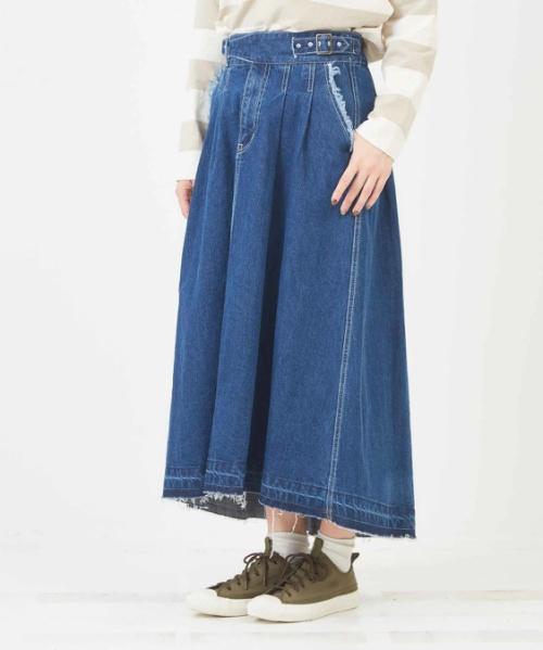 【セール除外商品】10オンスデニムグルカスカート