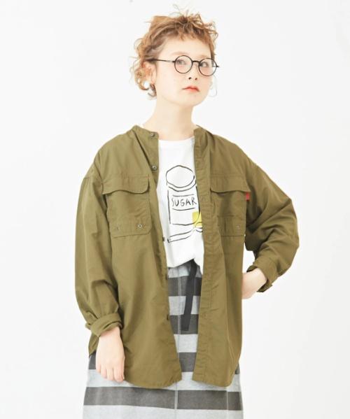 ライトトレック<ナイロンタフタ> ワークシャツジャケット