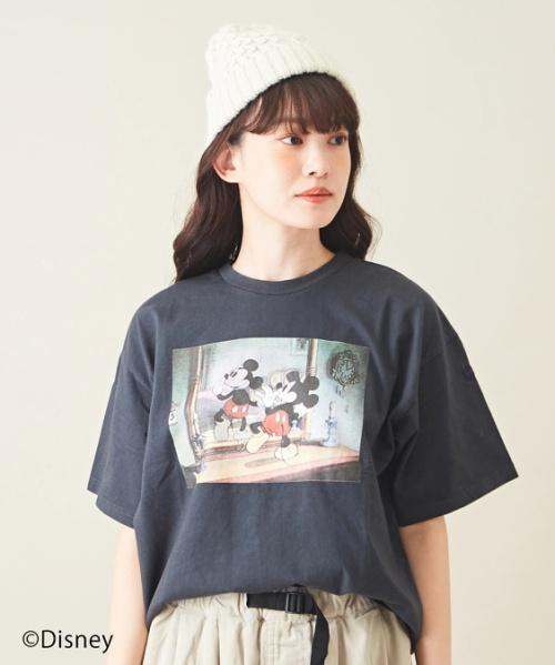 【セール除外商品】Mickey Mouse 90th Anniversary / クルーネック Tシャツ