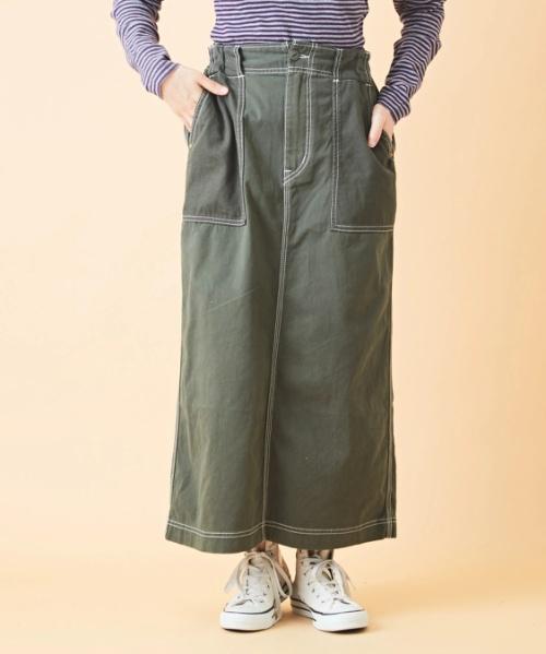 ピーチツイル ベーカースカート
