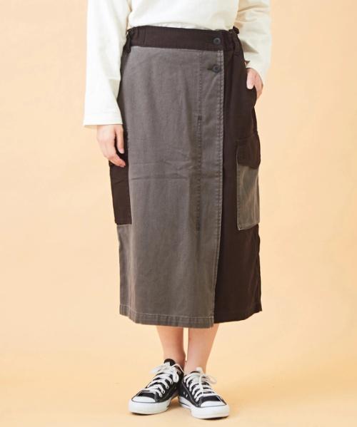 ダック カーゴスカート