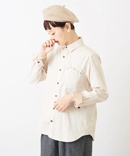 21W コーデュロイ レギュラーシャツ