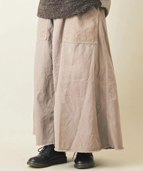 ピーチツイルリメイク風スカート