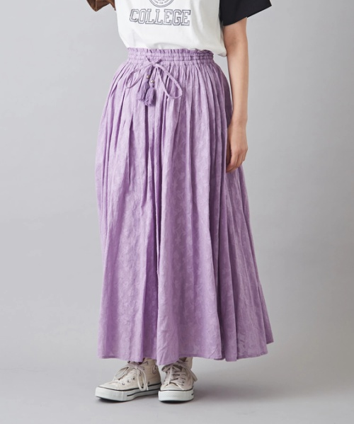 インドドビー ギャザースカート