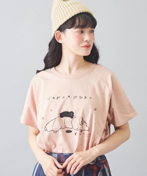 ★さくら並木プロジェクト 天竺 オーガニックコットン クリエイターズコラボ ヤッコ Tシャツ