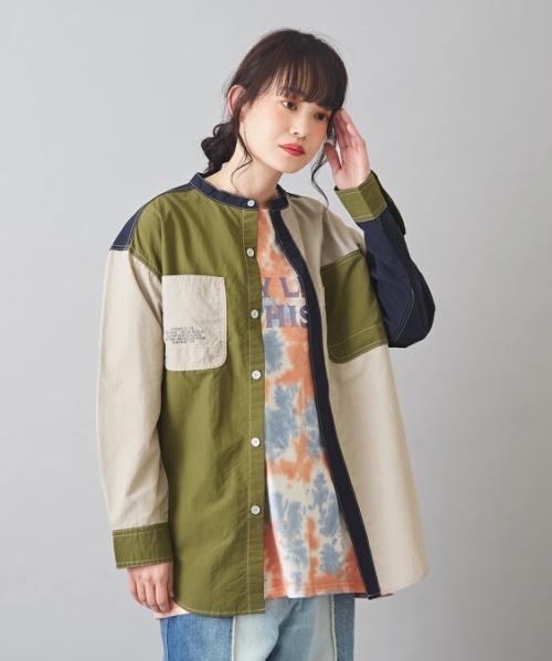 【セール除外商品】ナイロン ワッシャー ミリタリーシャツ