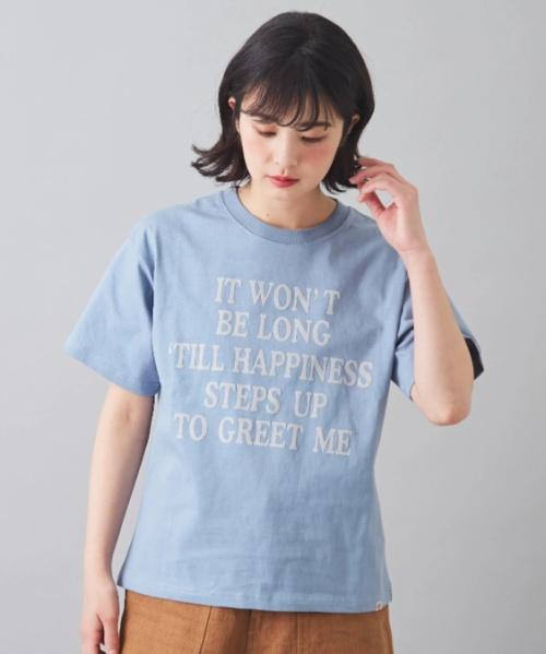 USコットン天竺 半袖 クルーネック Tシャツ