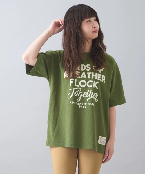 ★ビンテージ天竺 ビッグ クルーネック Tシャツ
