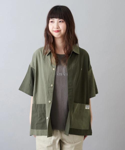 シジラ ワーク 半袖 ビッグシャツ