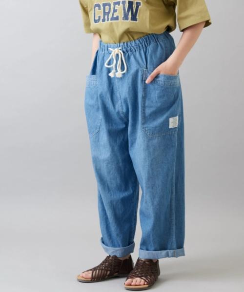 6.5オンス デニム イージー サイドポケット パンツ