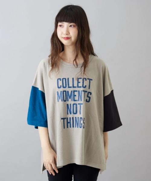 スラブガーゼ ビッグTシャツ