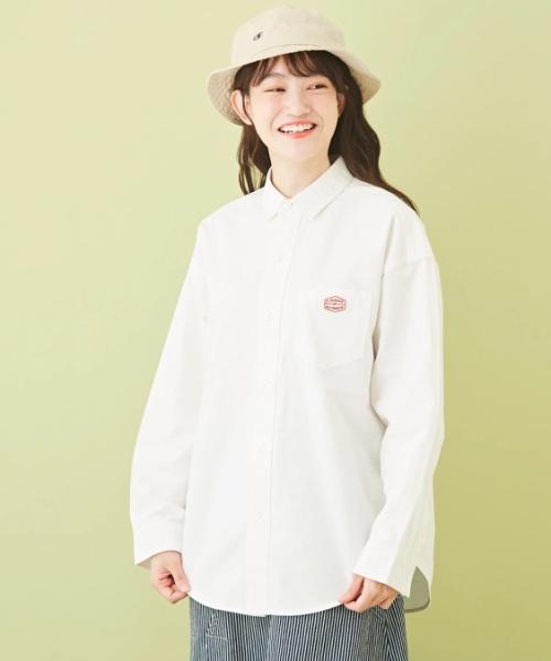 シャンブレー レギュラーシャツ