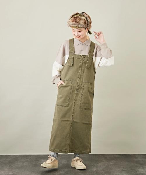 カツラギ ジャンパースカート